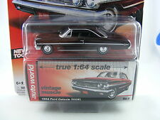 Ford Galaxie 500 XL 1964 in dunkelbraun von Auto World in 1/64, Sammlermodell!!