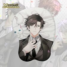 Hot Anime Mystic Messenger Jumin Soft Breast 3D Silicon Mouse Pad Mat Wrist Rest