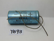 VINTAGE ELECTRONIC PART CAPACITOR NOS CORNELL DUBILIER BR2045 20 MFD 450 W.V