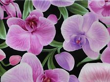 Timeless Treasures ORCHID Fabric Fat Quarter Cotton Chong-A Hwang Craft Quilting