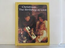 * HALLMARK Christmas The Birthday of Love, a Book of Christmas Poems