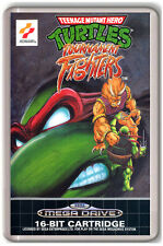 NINJA TURTLES TOURNAMENT FIGHTERS SEGA MEGA DRIVE FRIDGE MAGNET IMAN NEVERA