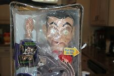 RARE GOOSEBUMPS SLAPPY VENTRILOQUIST DUMMY DOLL NEW,GLOW IN DARK EYES
