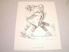 Miami Dolphins 1981 Shell Oil Company Complete Team Set (6) Different Posters !