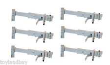 Gemini Jets GJARBRDG1 Airbridge Set of 6 Narrowbody Sky BRIDGES 1:400 Scale New
