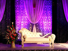 Damask Photography Backdrop 20ft x 10ft Background Curtain Drape Panel Photo