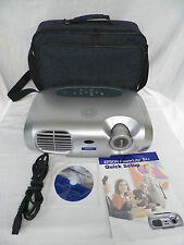 Epson LCD Projector EMP-S1H PowerLite S1+ Remote & Carry Case bundle