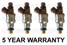 5 YEAR WARRANTY OEM Nikki Set Of 4 Fuel Injectors for Ford Aspire 1.3L  INP-482