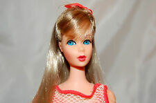 Spectacular Vintage Summer Sand Twist 'N Turn Barbie Doll  Original BOW TNT EXC.