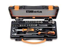 Beta Tools 900/C24 30Pc 1/4 Socket & Bit Set inc Extension Bar Universal Joint S