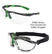Univet 5X1 Convertible Gafas De Seguridad Para Googles (5X1.03.00.00 & 5X1K1.00.00)