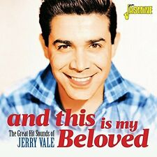Great Hit Sounds Of & This Is My Beloved - Jerry Vale (2017, CD NIEUW)2 DISC SET