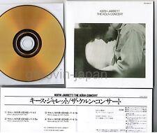 KEITH JARRETT The Köln Concert JAPAN Mini-LP CD 24k GOLD w/INSER UCCE-9011 FreeS