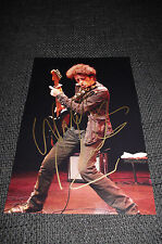 Willie Nile signed autographe sur 20x30 cm photo inperson Look