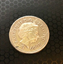 COIN IN BOTTLE / FOLDING COIN 10p (Double Fold) with minor fault/perfect in work