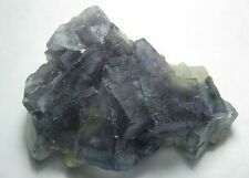 New Fine Floater Purple Fluorite with Topaz on Matrix  *China