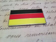 GERMAN CAR BADGE FLAG WITH 3M S/A MERCEDES AUDI BMW PORSCHE AUTOMOBILIA