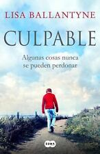 Culpable (The Guilty One: A Novel) (Spanish Edition)-ExLibrary