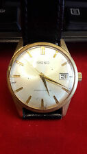 SEIKO DIASHOCK 17 JEWELS 3 HOUR DATE MECHANICAL 6602-1990 RARE VINTAGE WATCH