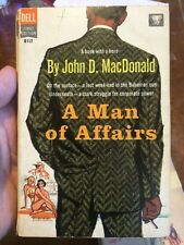 A Man Of Affairs By John D Macdonald 1957 First Paperback Edition Dell Paperback