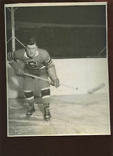 Vintage Bun Cook Pose 8 X 10 Hockey Photo