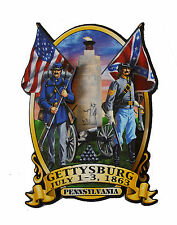 American Civil War ACW Battle Of Gettysburg Imported Bi Level Fridge Magnet