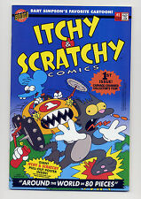 Itchy & Scratchy Comics #1 NM-  1999  w/Poster ~ Bart Lisa Homer Marge Simpson