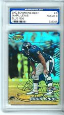 2002 GRADED BOWMANS BEST JAMAL LEWIS BLUE #D 60/300 REF