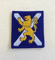 RRS TRF, Royal Regiment Scotland Badge, Patch, With, Without Velcro, Military