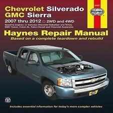 HAYNES Repair Manual # 24067 Chevorolet Silverado GMC Sierra 2007-2012 2wd 4wd