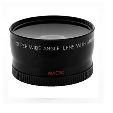 52mm Wide Angle Lens for with Macro 0.45x For Canon Rebel T3i & T4i HD - New