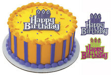2 ~ Happy Birthday Layon  ~ Cake Decoration Topper ~ NEW ~ 5763
