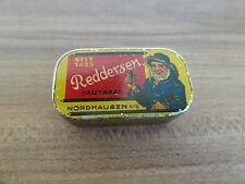 uralt kleine Blechdose Reddersen Nordhausen Kautabak