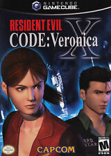 Resident Evil -- CODE: Veronica X  Nintendo GameCube Wii Disc Only