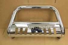 1999-2006 TOYOTA TUNDRA STAINLESS S/S FRONT BUMPER BULL BAR W/SKIT PLATE CHROME