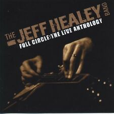 JEFF HEALEY BAND - FULL CIRCLE THE LIVE ANTHOLOGY - 3 CD + 1 DVD NUOVO