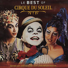 Le Best of Cirque Du Soleil  20th Anniversary Edition  MFR SEALED FREE SHIP
