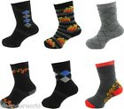 3 Pairs Childrens Boys Thermal Thick Boot Socks Teens Kids Winter Warm