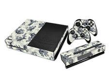 XBOX ONE Skin Design Foils Aufkleber Schutzfolie Set - Camouflage Motiv