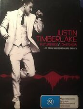 Justin Timberlake Futuresex/Loveshow Live Madison Square 2-Disc DVD Region 4 VGC
