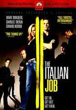 The Italian Job (DVD, 2003, WS) Mark Wahlberg, Charlize Theron, Crime Thriller