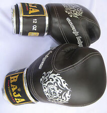 NEW RAJA BLACK Premium Boxing Gloves