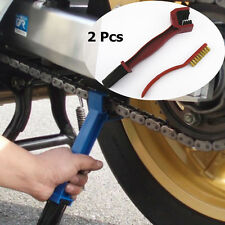 Motorcycles Chain Gear Greasy Stain Dirt Cleaning and Rust Remove Metal Brushes