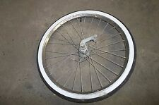 Sears Spaceliner Bicycle Front and Rear Tires with Rims