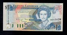 EAST CARIBBEAN STATES  10 DOLLARS ( 1993 ) MONTSERRAT  PICK # 27m AU-UNC.