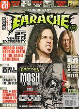 TERRORIZER Secret History of EARACHE ~ Napalm Death Morbid Angel Carcass + CD