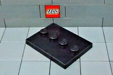 LEGO: Tile 4 x 3 with 4 Studs in Center (#88646 ) Minifig Stand **Two per Lot**