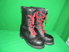WEINBRENNER SHORE Fire Fighter BOOTS  Mens 7 M STEEL TOE BOOTS 7M LADIES 9 M