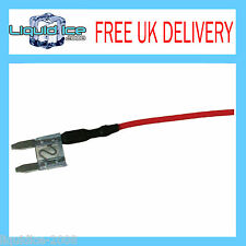 X 10 OFF MFS15A 15 AMP MINI SPUR BLADE FUSE LEAD CABLE FOR CAR VAN BUS VEHICLE