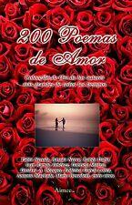 200 Poemas de Amor, Neruda, Nervo, Dario, Lorca y otros 50% Off, Envio gratis!